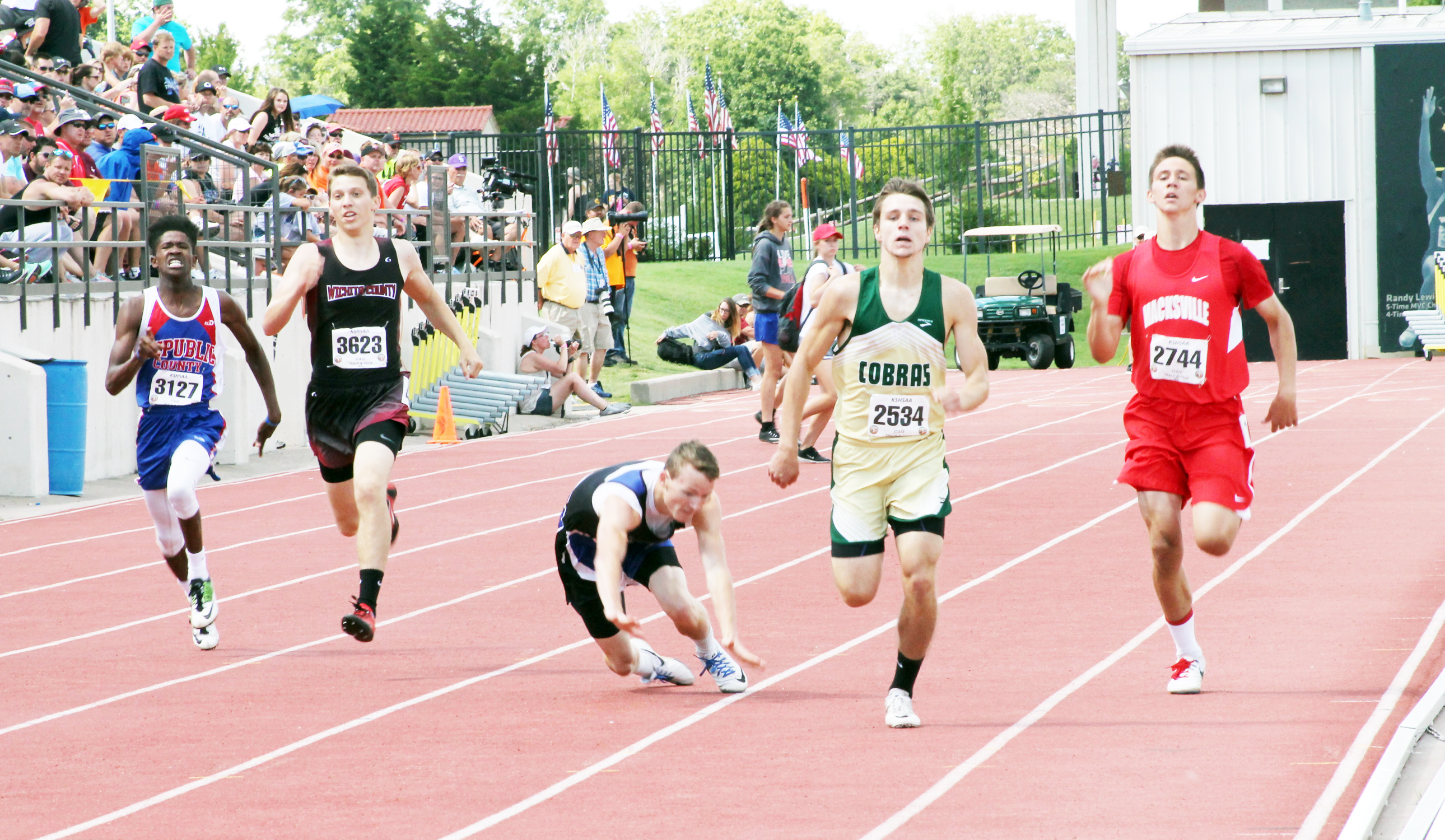 Kansas High School Track and Field Statistics and Results