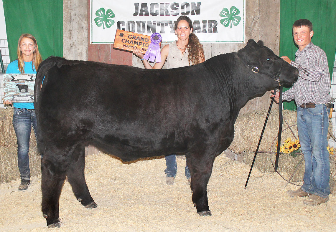 Kolby Rethman - Grand Champion Market Beef (Overall Crossbred)