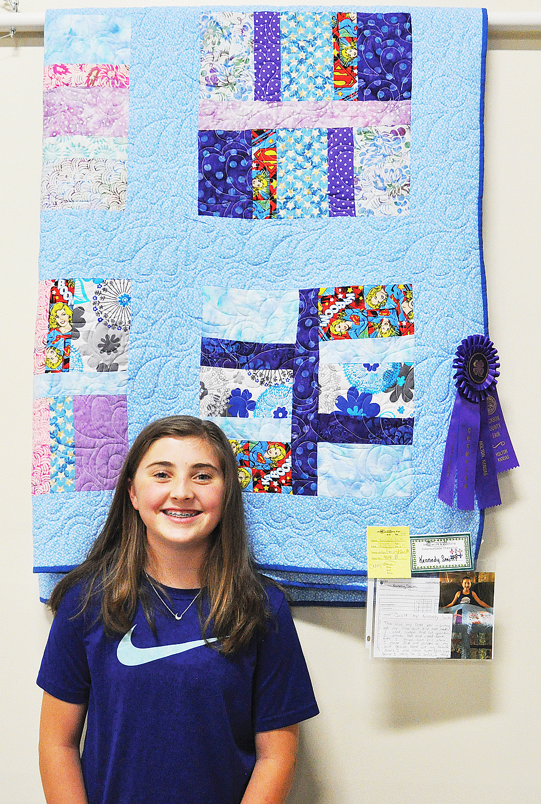 Kennedy Smith - Intermediate Patching and Quilting
