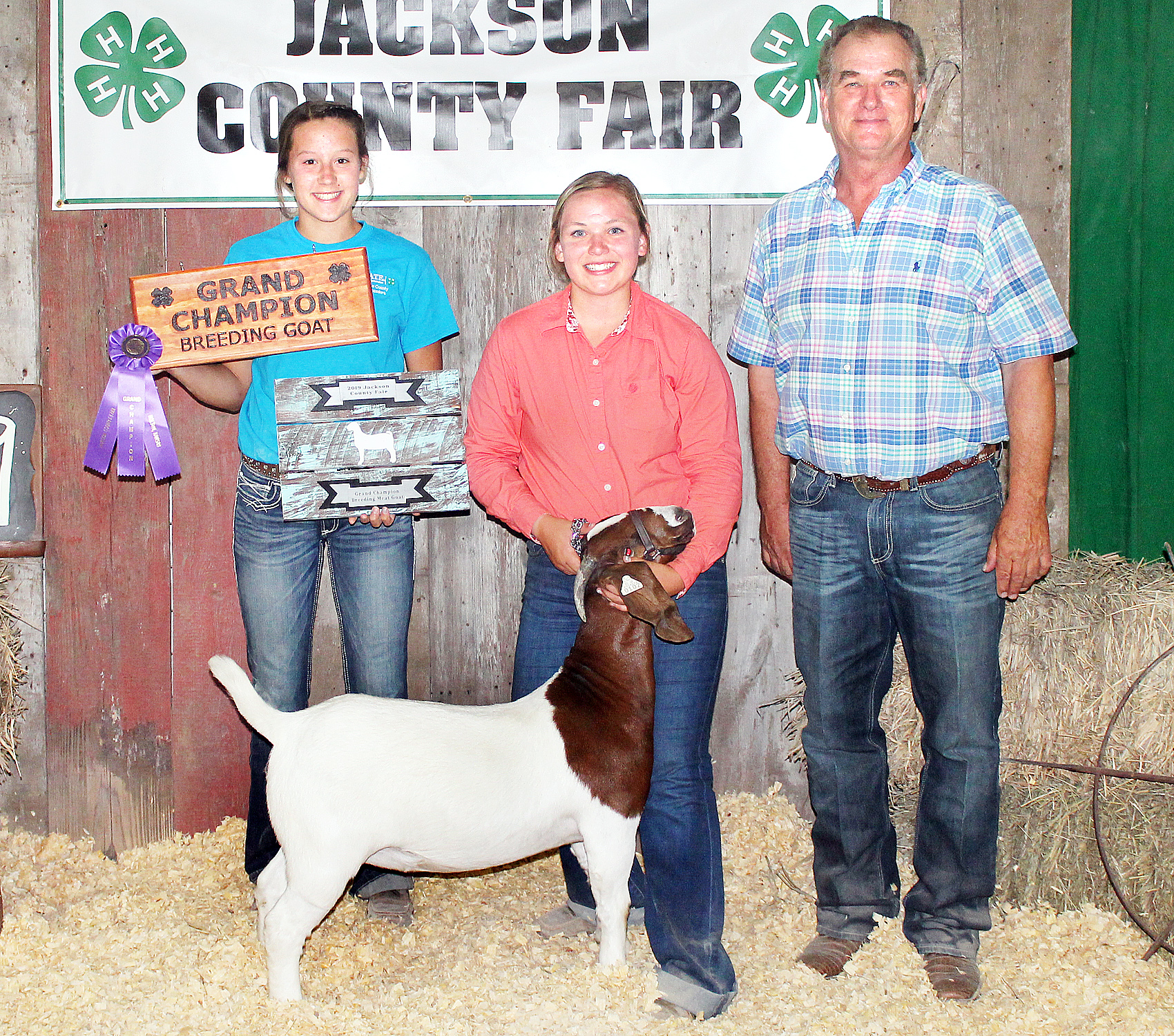 Jerilyn Nelson - Grand Champion Breeding Goat