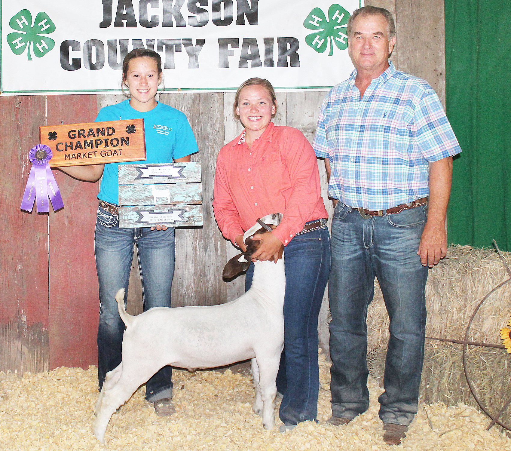 Jerilyn Nelson - Grand Champion Market Goat