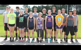 Team members for JHHS who will be going to the state track meet in Wichita are pictured above and include (front row, left to right) Abby Williams, manager Grace Bowhay, Kaitlynn Little, Lexi Proffitt, Erika White, Aidan Allen, Peter Rupnicki, (back row, left to right) Braden Dohl, Dalton Chartier, Mason Hamilton, Westin Jacobsen, Korby Strube, Wyatt Olberding, Jason Parker and Seth Holliday.