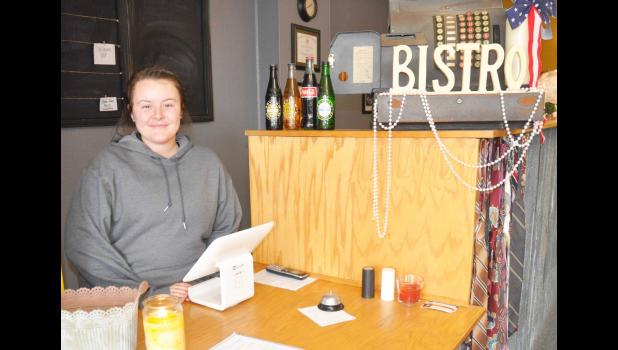 Christa Merriman recently took over ownership of the 5th Street Sandwich Shoppe on the north side of Holton's Town Square from Adam VanDonge, who recently opened a restaurant in Topeka. (Photo by Ali Holcomb)