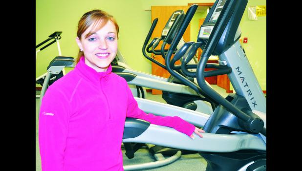 Tiffany (Bowser) Kuglin is the new supervisor at LifeCare Fitness Center in Holton. A graduate of Jackson Heights High School, Kuglin received a business management degree and personal training certification from Allen County Community College.