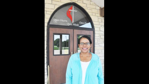 Kathy Williams is the new pastor of Holton First United Methodist Church, effective July 1. (Photo by Ali Holcomb)