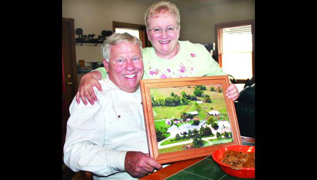 Bill and Debra Brown, owners of Red Rock Guest Ranch east of Soldier, have been named to the Holton/Jackson County Chamber of Commerce's Hall of Fame this year.