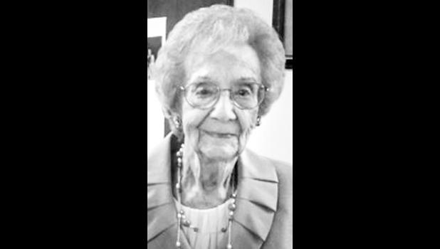 Mildred Cochren-Sherwood 1913-2017