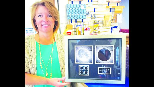 The Holton Post Office will participate in the total solar eclipse event on Monday, Aug. 21 by offering for sale special commemorative stamps at the Banner Creek Science Center from 1:30 p.m. to 3:30 p.m. that day, reports Postmaster Jennifer Ingels. (Photo by David Powls)