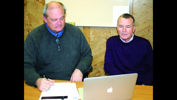 Holton Superintendent Dennis Stones (left) and Royal Valley Superintendent John Rundle (right) have recently expressed their concerns with a proposed Senate Bill 71. If passed, the bill would reduce school funding for the current school year.