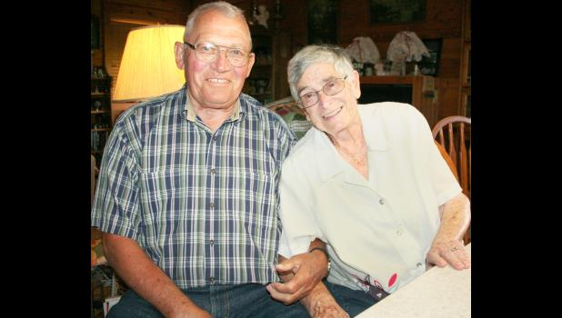Charlie and Ethel Ann King will be the grand marshals of the 2016 Jackson County Fair Parade, set to begin at 6 p.m. Wednesday on Holton's Town Square. (Photo by Brian Sanders)