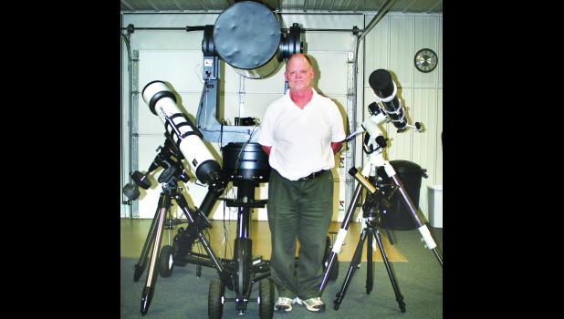 Mike Ford's love of astronomy helped him to launch the Elk Creek Observatory at Holton High School, and the observatory played a major part in the development of the Banner Creek Science Center and Observatory west of Holton. Ford has been named to the Holton/Jackson County Chamber of Commerce Hall of Fame for 2015.