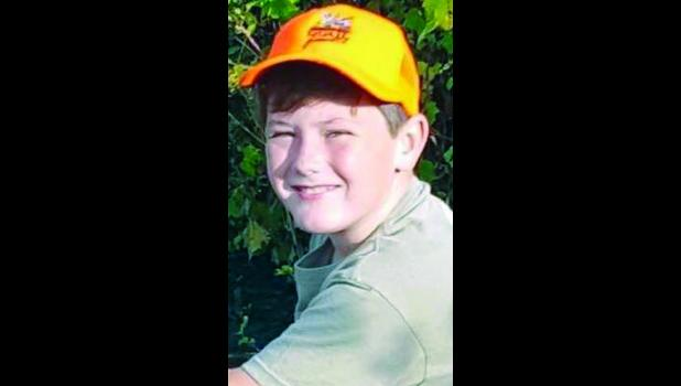 Colby Harris, 11, of Mayetta, was found dead at his home shortly after noon Friday after an apparent explosion occurred there shortly before noon, Jackson County Sheriff Tim Morse said.