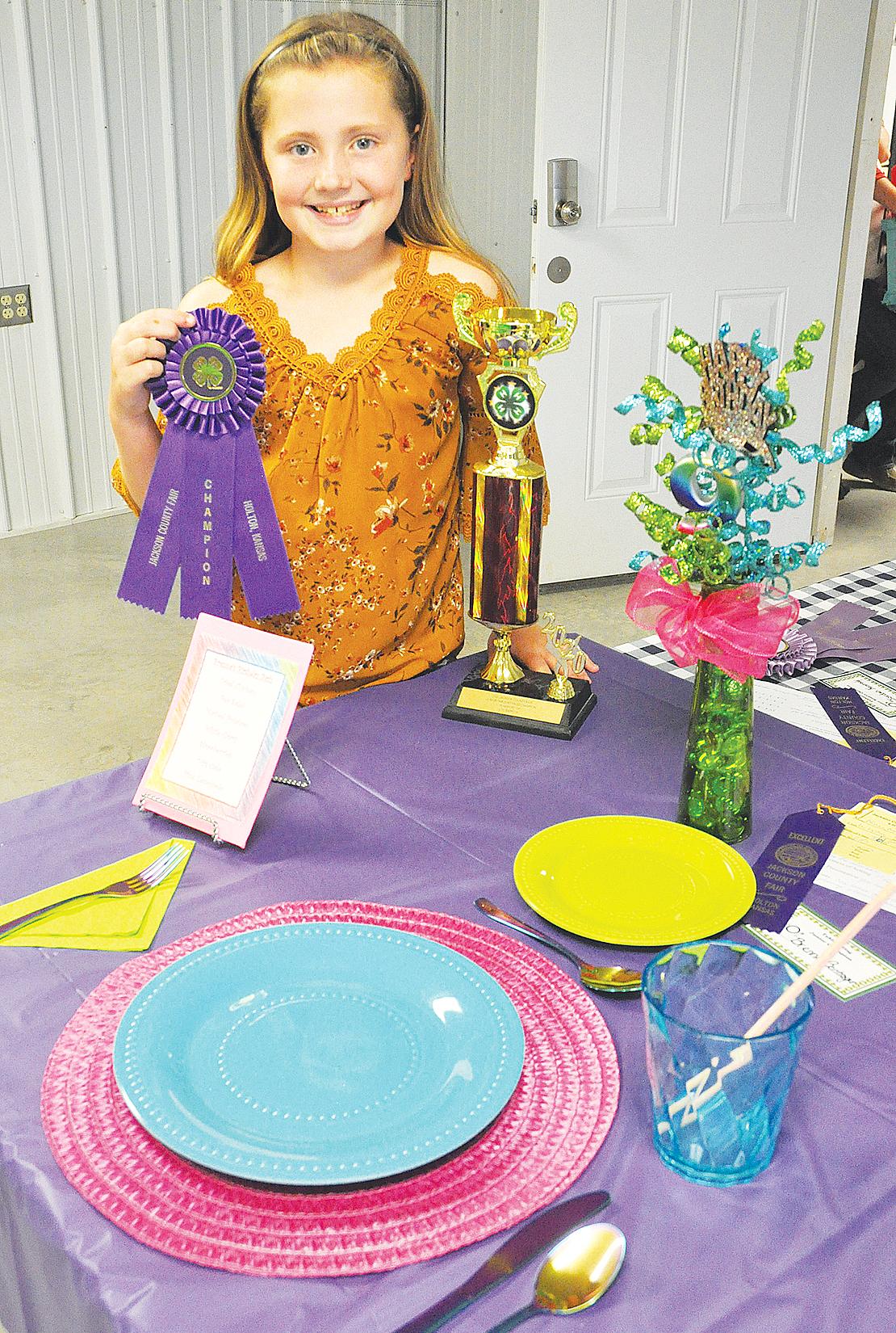 Brenna Bontrager - Table Setting