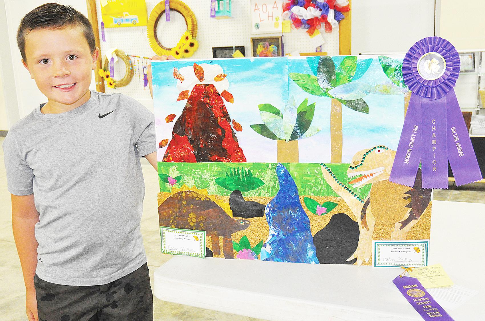 Caden Phillips - Junior Arts and Crafts