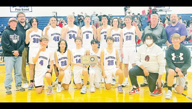Royal Valley High School 3A boys sub-state champions. (Photo by Ali Holcomb)