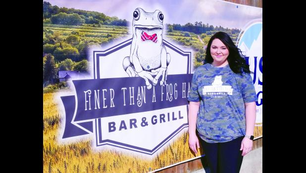 Sam (Eubanks) Correll has opened Finer Than A Frog Hair Bar & Grill at 113 Central Ave. in Denison.