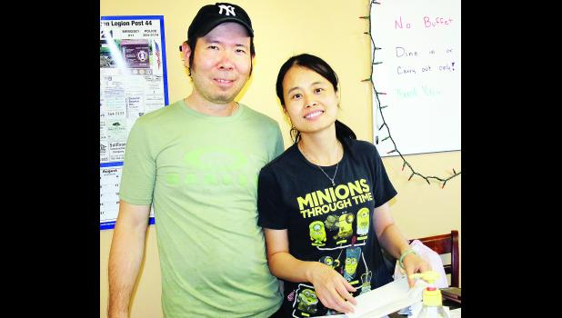 Qing Fa Lin and his wife, Min, are the new owners of China Restaurant in Holton.