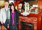 """Dennis and Joni White of Holton (shown above) will open up their historic home on Saturday as one of the five stops on the """"I'll Be Home for Christmas"""" tour."""